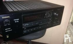 Onkyo ampli 120 volts from USA Can be seen st 19 leo