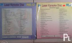 OPM karaoke English karaoke Laserdisc Movies and Band