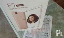 For Sale: Oppo f5 youth Rosegold color Openline 3gb