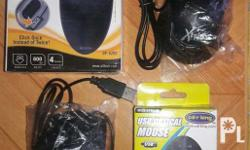 Assorted optical mouse Good as new never been used 1