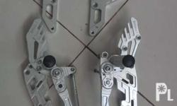 Read or magbasa Option1 Full rearsets silver v3