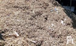 dried leaves for fertilizer and landfill, available for