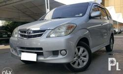 2009 Toyota Avanza 1.5 G AT 1st Owner! Top of the Line