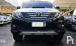 2012 Toyota Fortuner G DSL AT 4x2 TRD 1st Owner Mileage