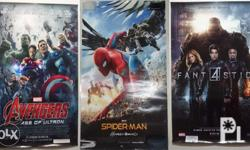 Avengers Spiderman Fantastic Four (Size: 27 x 40