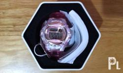 Orig Baby G watch. US bought from Macys store. Bnew.