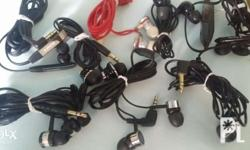 Imported original earphones From Japan All in good