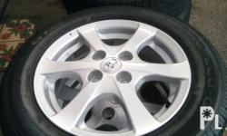 45 days used only, w/ Champiro GT Radial 175/65/14