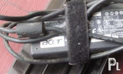 Original Acer Laptop Chargers Input: 100-240 Volts