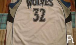 Worn only twice original Adidas Minnesota Timberwolves