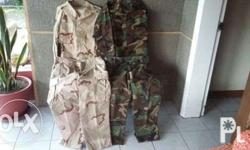Original Authentic Imported Camouflage Uniform -
