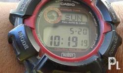 Original Casio Gshock Digital Watch AutoLight Indiglo
