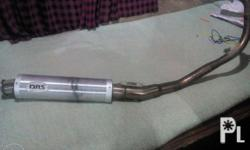 original DBS pipe for raider 150 fix for 1500