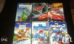 Original animated dvds. Almost brand new. Wala pong