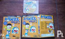 This is an original Doraemon DVD. Item was bought in