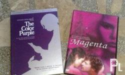 2 DVDS - Color Purple Starring Oprah Winfrey and Whoopi