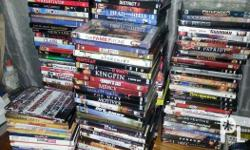 Selling Preloved DVD collection for 150 to pesos 100