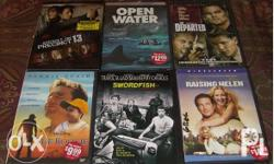 Original DVD Movies Region 1 from the U.S. These were