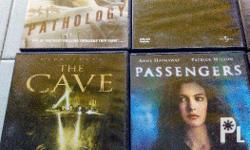 Pack of 12 original DVD movies. Some of the DVD are