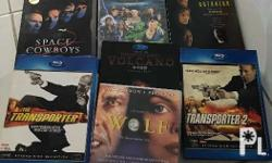 Preowned original dvds for the price of one, bought in