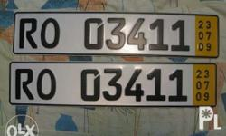 These are original europlates imported from germany..