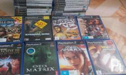 38 pieces of Original Games for Playstation 2 Complete