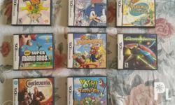 Original Nds Games with case All in good condition No