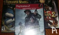 GUARANTEED 100% ORIGINAL PS2 GAMES for 250php each or