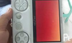 white psp go for sale with usb cable and charger with