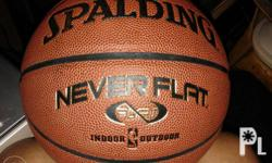Spalding ball for indoor and outdoor use