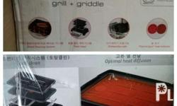 It is original grill and griddle in Tefal