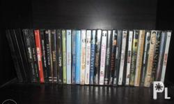 Original Used VCDs *31pcs *Action, Romance, Sci-Fi, etc