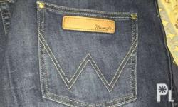 For sale original wrangler pants skinny Size 32 mid