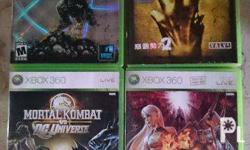 For Sale Only Original Xbox 360 games Darksiders 700