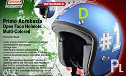 SALE ORIGINE PRIMO HELMETS OPEN FACE helmet. Retro Look