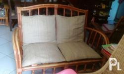 2 single and 1 loveset outdoor furnitures. Best for