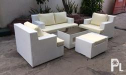 "Outdoor Rattan dining ""celine design"" We also accept"