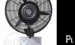 "Outdoor Misting Cooling Wall Fan MFW 24"" Price:"