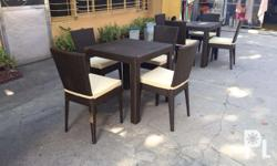 Outdoor rattan dining set chair 4 Please inquire at JQ