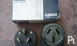 outlet and plug heavy duty Eagle brand P1300 eagle plug