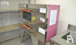 Oven (stainless front with glass window) 4 Tray