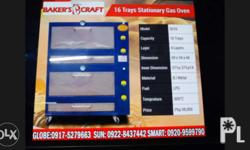 """BAKERY GAS OVEN Stainless door w/ stand """"1 year service"""