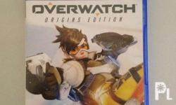 Selling my ps4 game overwatch for 2k only. Good as new