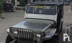 For sale onwer type jeep, 4k engine... Tires 95%.
