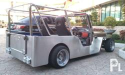Pure stainless,owner type jeep,power steering,4age
