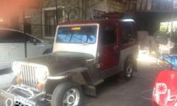 Owner type jeep. Malabon Fiber roof , stainless body
