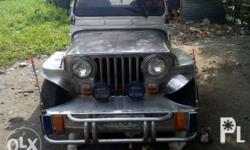 Owner type jeep 1993 model 5k engine converted 4k