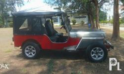 Owner type jeep(fpj look) 3k engine Semi stainless