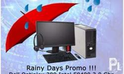 RAINY DAY'S PROMO PACKAGE!!! Dell OPTIPLEX 380 SLIM