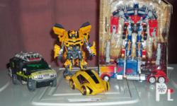 Deskripsiyon im selling five transformer toy action